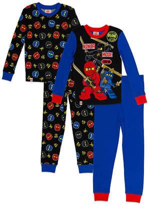Lego Ninjago Boys Fall 18 Sleepwear 4-pc. Pajama Set Boys