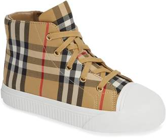 Burberry Belford High-Top Sneaker