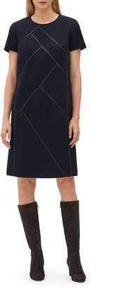 Lafayette 148 New York Nouveau Crepe Shift Dress