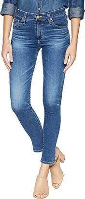 AG Adriano Goldschmied Women's Farrah Skinny Ankle with Outside Side Slit