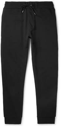 McQ Slim-Fit Logo-Print Stretch-Cotton Jersey Sweatpants