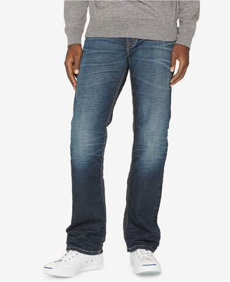 Silver Jeans Co. Men Zac Relaxed Straight-Fit Stretch Jeans