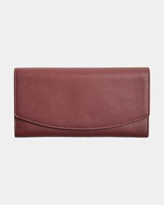 Skagen Continental Cordovan Flap Wallet