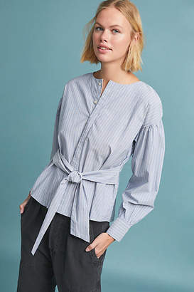 Citizens of Humanity Joni Striped Blouse