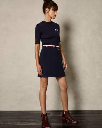 Ted Baker ELSBETH Knit woven dress