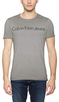 Calvin Klein Men's Tenim 2 Cn Tee Ss Kniited Tank Top,X-Large