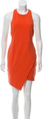 Bec & Bridge Sleeveless Knee-Length Dress Orange Sleeveless Knee-Length Dress