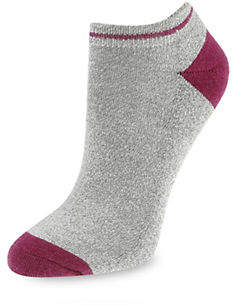 SILKS Womens Leisure Stripe Low Cut Socks
