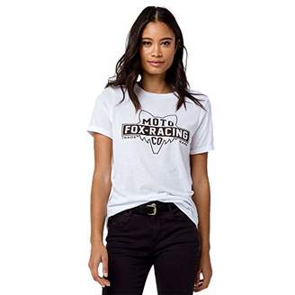 Fox Junior's Lowdown Boyfriend FIT Short Crew ROLL Sleeve T-Shirt