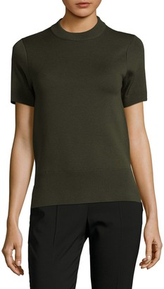 DKNY Reversible Merino Wool Blend Sweater
