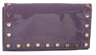 Zac Posen Embellished Patent Leather Clutch