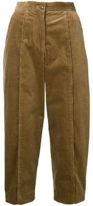 Chalayan corduroy tapered trousers