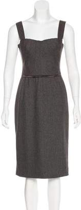 Dolce & Gabbana Tweed Midi Dress