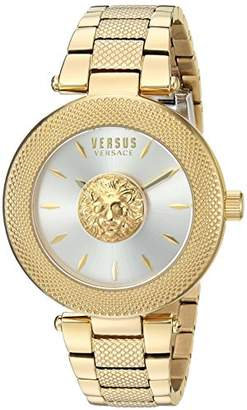 Versus By Versace Women's 'Brick Lane' Quartz Stainless Steel and Plated Casual Watch(Model: VSP212517)