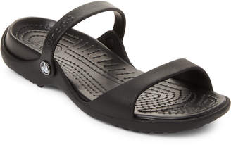 Crocs Black Cleo Slide Sandals
