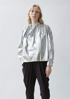 Isabel Marant Tessa Metallic Cotton Top