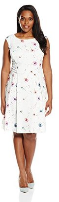 Single Dress Women's Plus Size Sleeveless $149.95 thestylecure.com