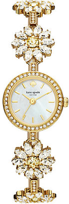 Daisy crystal bracelet watch $325 thestylecure.com