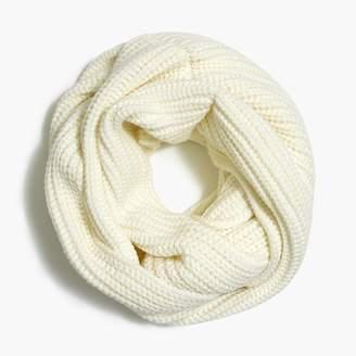 J.Crew Ribbed knit infinity scarf