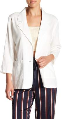 Wild Honey 3/4 Length Sleeve Blazer