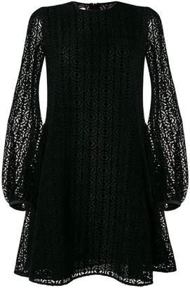 Giamba lace flared dress