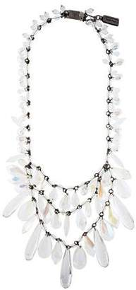 Prada Large Crystal Statement Necklace