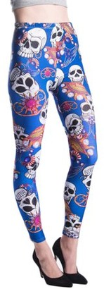 Aerusi AERUSI Women's Fashion Design Full Length Stretchy Leggings