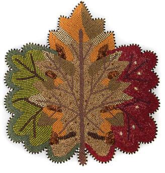 Mackenzie Childs MacKenzie-Childs - Autumn Leaves Placemat