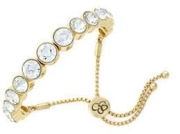 Jessica Simpson 2/25 Key Bracelet Crystal Slider Bracelet