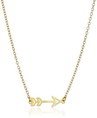 Kris Nations Arrow -Plated Necklace