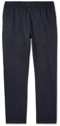 Paul Smith Tapered Stretch-Cotton Drawstring Trousers