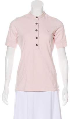 Burberry Short Sleeve Polo T-Shirt