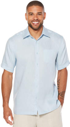 Cubavera Big & Tall 100% Linen 1 Pocket Shirt
