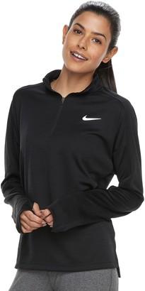 Nike Women's Pacer Long Sleeve 1/2-Zip Running Top