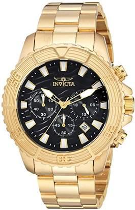 Invicta Men's 'Pro Diver' Quartz Stainless Steel Casual Watch