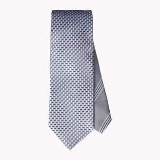 Tommy Hilfiger Slim Width Silk Microprint Tie