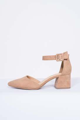 City Classified Ankle Strap Pump