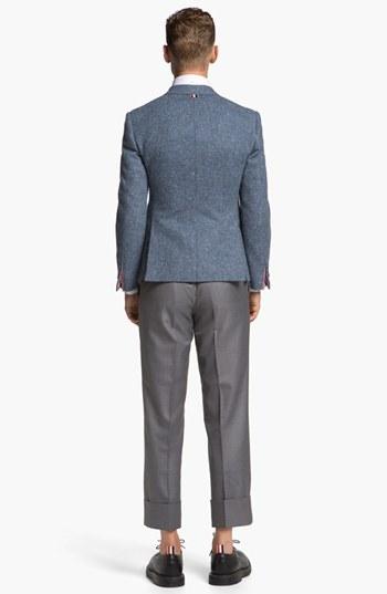 Thom Browne Three Button Wool Sportcoat