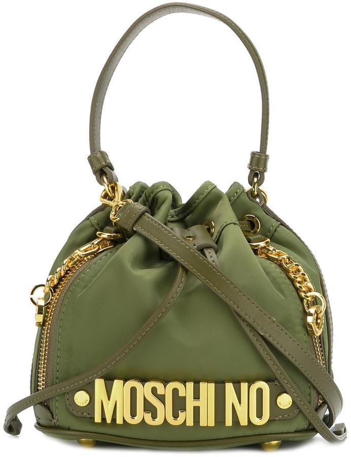 MoschinoMoschino bucket tote