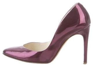 Rupert Sanderson Patent Leather Round-Toe Pumps