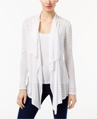 Inc International Concepts Pointelle Cardigan, Only at Macy's $79.50 thestylecure.com