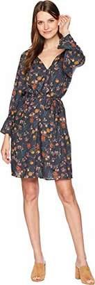 Lucky Brand Women's Bell Sleeve Dress