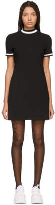 Alexander Wang Black High Twist Mini Dress