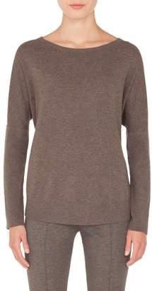 Akris Punto Wool & Cashmere Drop Shoulder Sweater