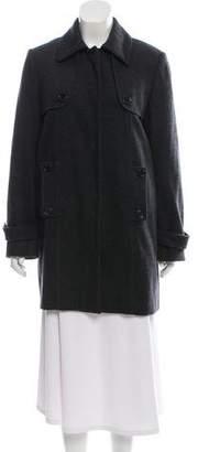 Les Copains Knee-Length Button-Up Coat