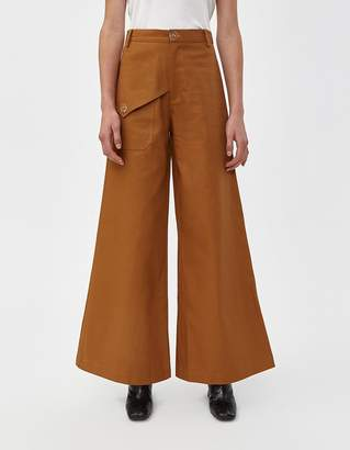 Viden Coma Canvas Pant in Camel