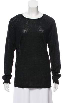Givenchy Wool Long Sleeve Sweater