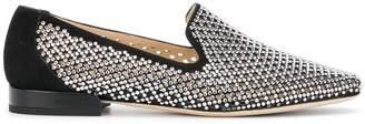 Jimmy Choo crystal mesh style Jaida loafer