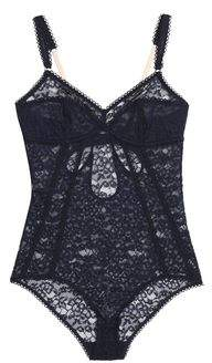 Stella McCartney Cutout Corded Lace Bodysuit