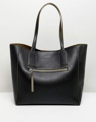 Jack Wills leather look tote bag